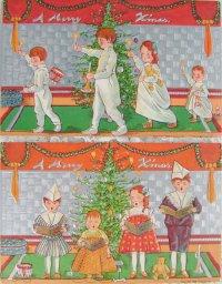 クリスマス・ポストカード (2枚セット)