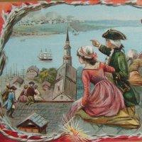 アンティークカード 独立記念日