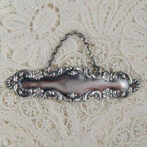 画像1: 銀製 リカー・タグ