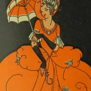画像1: ロココ風貴婦人:アールデコ期ニードルキット