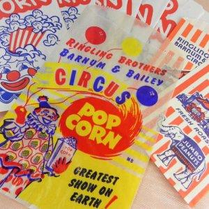画像1: リンリン・サーカスの紙袋10枚セット
