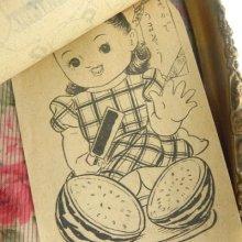 他の写真2:  【レトロ】ぬりえ&ビスクドールのセット