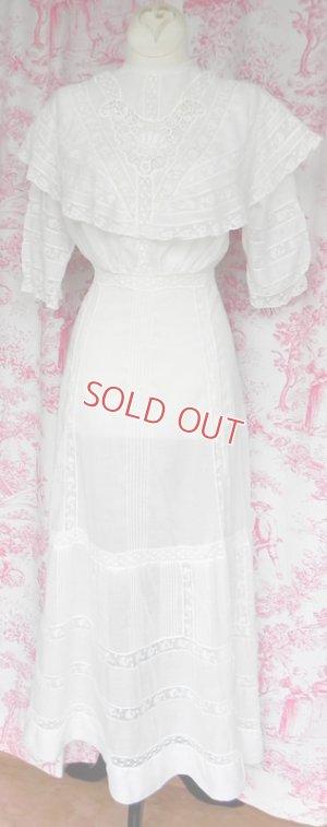 画像1: ヴィクトリアン・ホワイトドレス