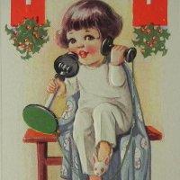 アンティーク・クリスマスカード