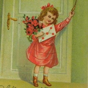 画像1: アンティークカード