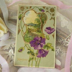 画像2: アンティークカード
