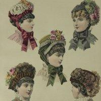 1882年、フランス、ファッションプレート
