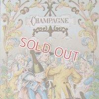 フランス、シャンパンのトレードカード