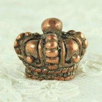 銅製クラウン(王冠)ボタン