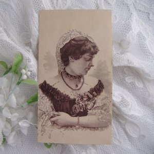 画像3: トレードカード、ヴィクトリアン・レディとコルセット