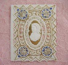 他の写真1: ヴィクトリアン・レースカード(巻き毛のレディ)