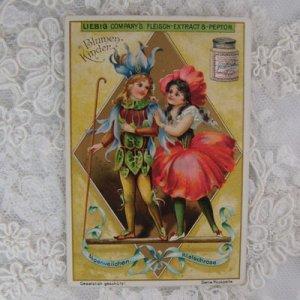 画像2: ベルギー、トレードカード、フラワーフェアリー
