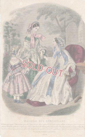 画像2: 1855年、フランス・ファッションプレート