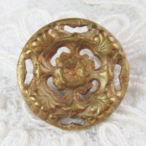 画像1: 真鍮ボタン