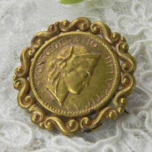 画像2: ブリティッシュ・真鍮ブローチ