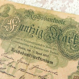 画像2: 1910年、ベルリンの古い紙幣