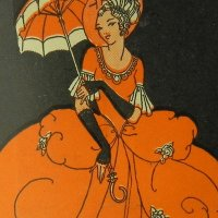 ロココ風貴婦人:アールデコ期ニードルキット
