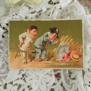 画像2: フレンチ・トレードカード