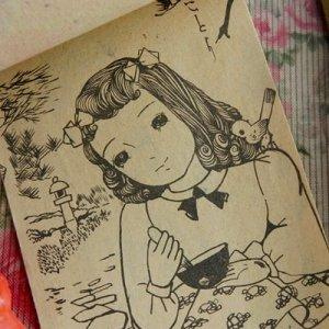 画像3:  【レトロ】ぬりえ&ビスクドールのセット