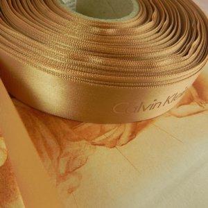 画像5: カルヴァン・クラインのサテンリボン 幅2.3cmx長さ1m分より〜