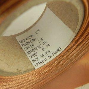 画像3: カルヴァン・クラインのサテンリボン 幅2.3cmx長さ1m分より〜