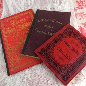 画像1: 1893年、シカゴ万博BOOKS (3冊セット)