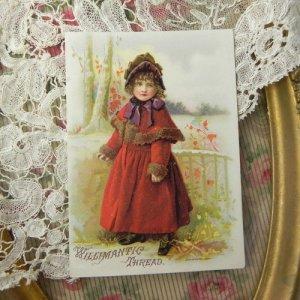 画像3: トレードカード 〜糸巻広告カード〜