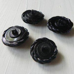 画像5: セルロイド・ボタン 4つセット