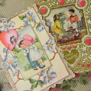 画像1: ヴァレンタインカード2枚