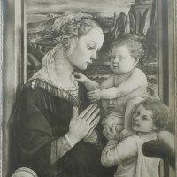 大判サイズ:イタリアン絵画のアンティーク・フォト(写真)