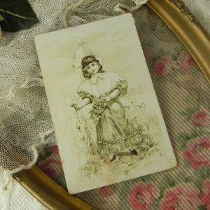 画像2: フレンチ・トレードカード (チョコレートの広告) A