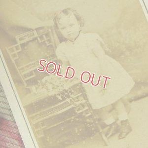 画像2: フランス、ボルドー地方の小さな女の子のアンティークフォト