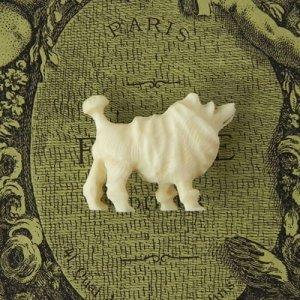 画像2: アイボリーのカーヴド・ドッグ