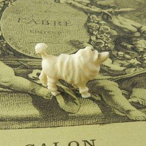 画像3: アイボリーのカーヴド・ドッグ