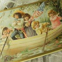 ヴィクトリアン、大きなカード