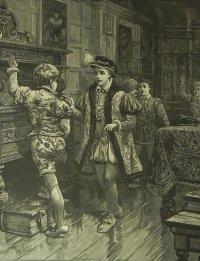 アンティーク、エングレーヴィング画 (銅板画)プリンス・エドワード