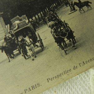 画像2: アンティークカード、フランス、Paris