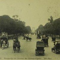アンティークカード、フランス、Paris