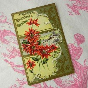 画像2: アンティークカード、クリスマス