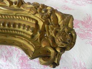 画像2: 大きな真鍮インテリアパーツ(薔薇)66cmx11cm