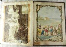 他の写真3: 1800年代、ヴィクトリアン・スクラップBOOK 全94ページ、215枚以上の古紙満載♪