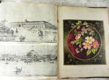 他の写真1: 1800年代、ヴィクトリアン・スクラップBOOK 全94ページ、215枚以上の古紙満載♪