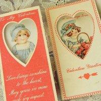 ヴァレンタイン・カード2枚