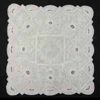 白刺繍・ホワイトワーク・ハンキー