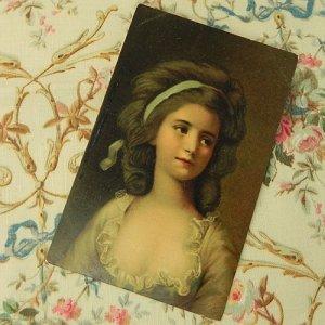 画像2: ロココ貴婦人のポートレート・ポストカード