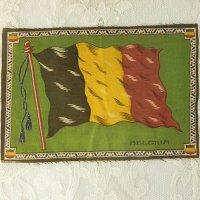 シガーノベルティ、フェルト地のベルギーフラッグ(旗)