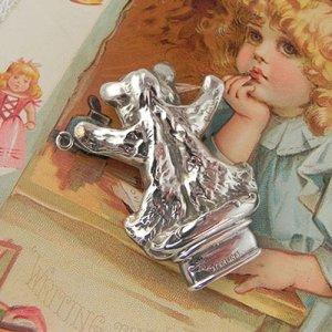 画像2: 銀製テディベア・パーツ