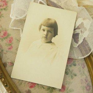画像4: 少女のポートレートフォト・カード(写真)