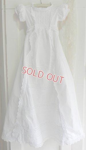 画像1: イギリス、ヴィクトリアン・ベビー洗礼式用ドレス
