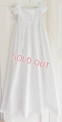 イギリス、ヴィクトリアン・ベビー洗礼式用ドレス